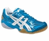 Asics Gel Domain 2 Squash / Volleyball Lady's Shoes, Diva Blue/White