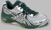 Asics Gel-1130v Squash / Volleyball Lady's Shoes, Forest/White/Silver