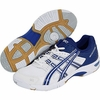 Asics Gel Rocket 5 Women's Shoes, White / Jet Blue