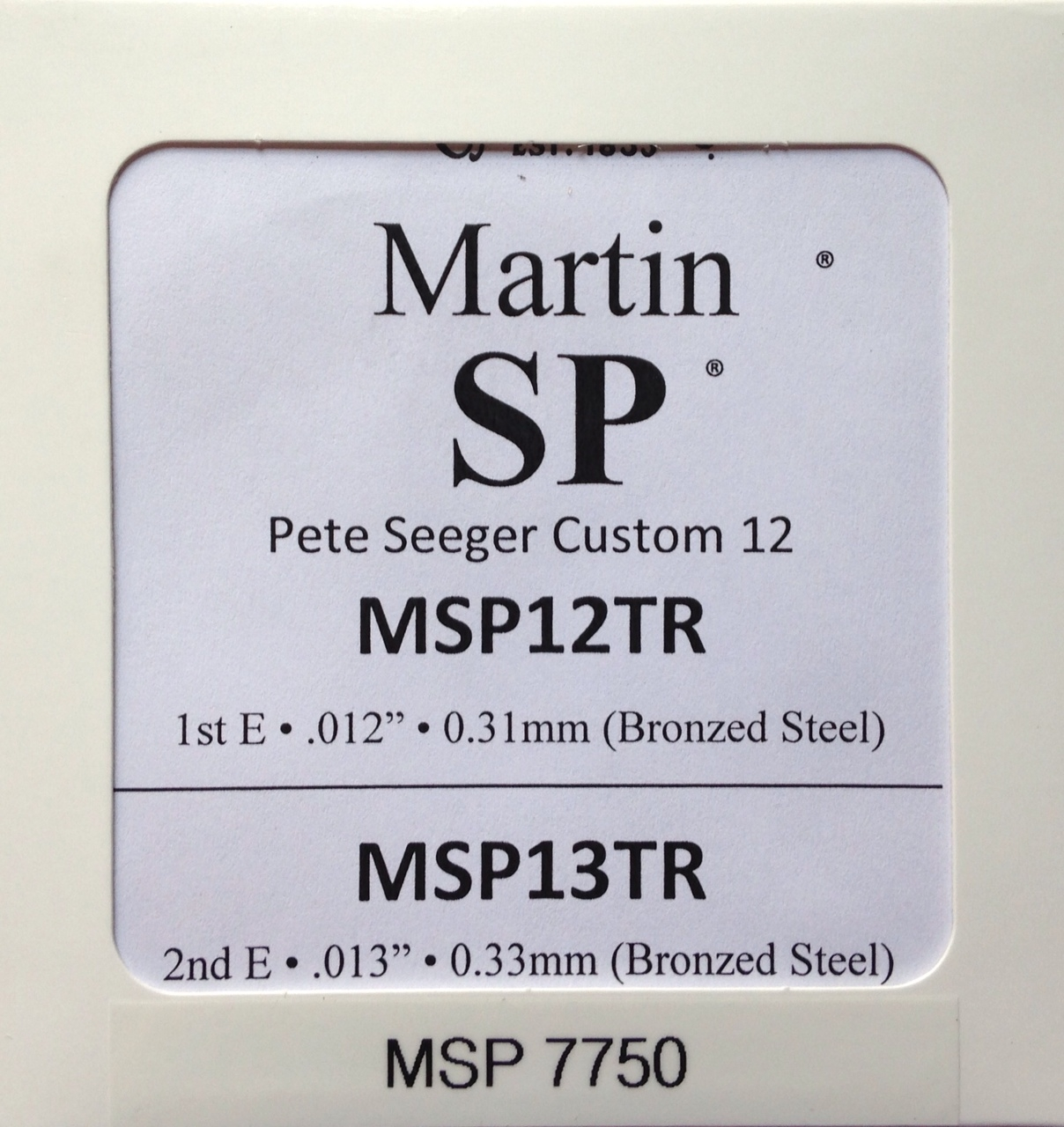 Martin SP Lifespan Phosphor Bronze Treated Acoustic Guitar Strings