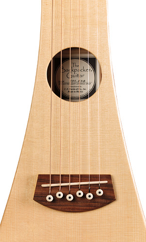 Martin Steel String Backpacker Travel Guitar with Gig Bag