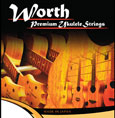 Worth Premium Ukulele Strings Clear Fluorocarbon Hard