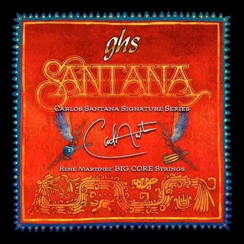 GHS Carlos Santana Signature Series Big Core Electric Guitar Strings