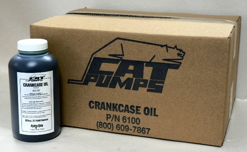 CAT Pumps 6100 Crankcase Lubricating Oil - 12, 21 Ounce Bottles
