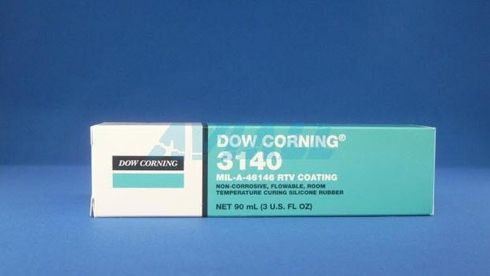 Dow Corning RTV-3140 Clear Silicone Sealant - 3 Oz. Tube