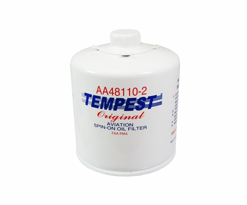 Tempest AA48110-2 Airplane Oil Filters - No Box