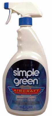 Simple Green 13412 Extreme Aircraft Cleaner - 32 oz Spray