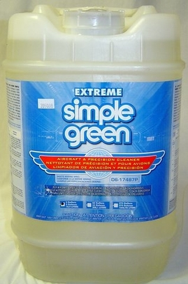 Simple Green 13405 Extreme Aircraft Cleaner - 5 Gallon