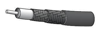 M17/74-RG213 Coaxial Cable (price per ft)