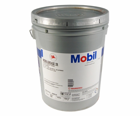 Exxon Mobil Mobilgrease 28 Synthetic Aviation Grease - 35 lb Pail