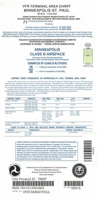 FAA TMSP Minneapolis-St Paul Terminal Area Chart