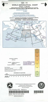 FAA WCD11 CD-11 World Aeronautical Charts
