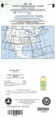 FAA WCG20 CG-20 World Aeronautical Charts