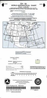 WCH24 CH-24 World Aeronautical Charts