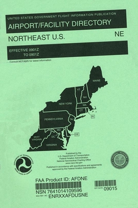 AFDNE NorthEast U.S. Airport/Facility Directory (AFD)