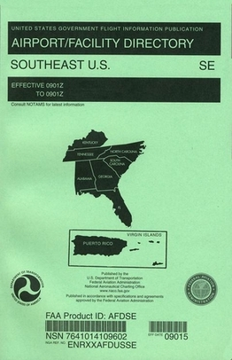 FAA AFDSE South East U.S. Airport/Facility Directory (AFD)