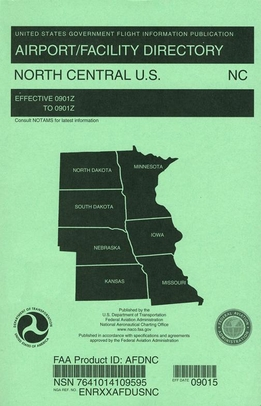 FAA AFDNC North Central U.S. Airport/Facility Directory (AFD)
