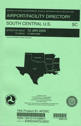FAA AFDSC South Central U.S. Airport/Facility Directory (AFD)
