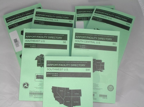 FAA AFDUSSET Lower 48 United States Airport/Facility Directory (AFD) Set