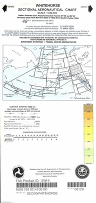 FAA SWHI Whitehorse Sectional Chart