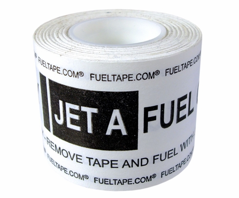 """Fuel Tape """"Jet A Fuel Only"""" Indicator Tape - Black Print (CLEARANCE)"""