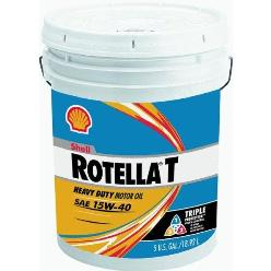 Shell Rotella T Triple Protection 15W-40 Engine Oil - 2.5 Gallon Jug - CJ-4