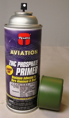 Tempo A-702 Green Zinc Phosphate Primer - 6 Can/Case