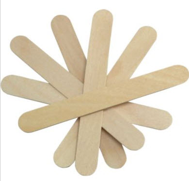 "SkyGeek PP-6 Wooden 6"" Paint & Epoxy Mixing Paddle/Stick - 500 Count Box"