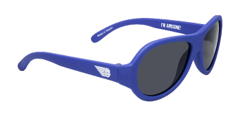Babiators BAB-002 Baby Sunglasses - Blue Angels Blue - Junior - Ages 0-3 Years