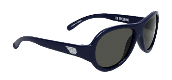 Babiators BAB-011 Baby Sunglasses - Nighthawk Navy - Junior - Ages 0-3 Years