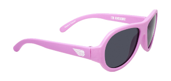 Babiators BAB-008 Kid Sunglasses - Princess Pink - Classic - Ages 3-7 Years