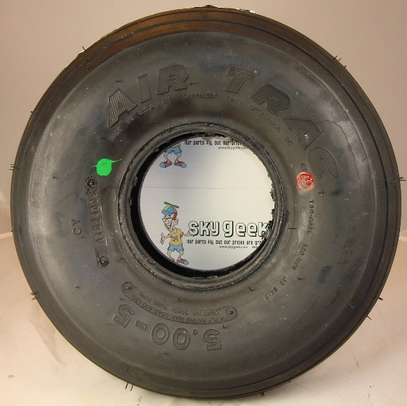 McCreary AA1D2 5.00-5 4-Ply Air Trac Aircraft Tire
