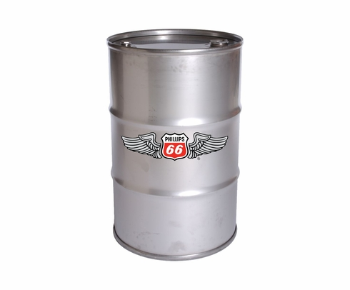 Phillips 66 X/C 25W-60 Multiviscosity Radial Engine Aircraft Oil - 55 Gallon Drum