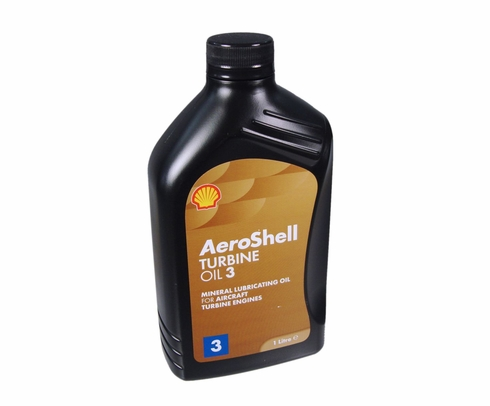 AeroShell Turbine Oil 3 Synthetic Turbine Engine Oil - Liter Bottle
