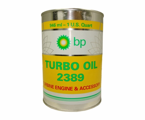 Air BP 2389 Turbine Engine Oil - Quart Can