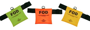 Seitz FOD-1 Orange (FOD) Foreign Object Debris Bag with Velcro Belt