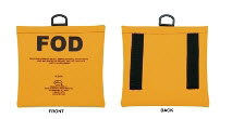 Seitz FOD-1A Yellow (FOD) Foreign Object Debris Bag with Belt Loops