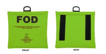 Seitz FOD-1A Green (FOD) Foreign Object Debris Bag with Belt Loops