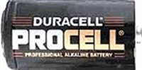 Duracell PROCELL PC1300 Alkaline Battery - D Size
