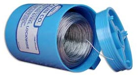 "Malin MS20995C15 Stainless Steel Safety Wire (2 lb. Roll) - 0.015"" Diameter - ASTM A580"