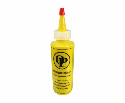 Organic Products F-900 Torque Seal - Yellow - 4 oz Bottle