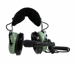 David Clark H10-13HXP Helicopter Headset with Panel-Powered Module - 40600G-04