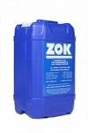 ZOK International 27 Yellow MIL-PRF-85704C Spec Concentrate Gas Turbine Compressor Cleaning Fluid - 6.6 Gallon Pail