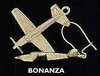 Johnson's Jewelry BONEAR-G Beech Bonanza Earrings, Beech