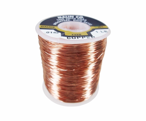 Military Standard MS20995CU14 Copper 0.014 Diameter Breakaway Wire (1 lb. Roll)