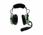 David Clark 40074G-01 Model H10-20 Mono 5-Foot Straight Cord Aircraft Headset