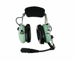David Clark 40128G-02 Model H10-60C Mono 5-Foot Coil Cord Aircraft Headset