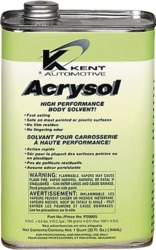 Kent-Automotive P20005 Acrysol Paint Preparation & Auto Body Solvent - Quart Can