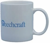 """Beechcraft Logo"" White Coffee Mug"
