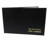 Jeppesen JS506048 Black Hardcover Pilot Log Book